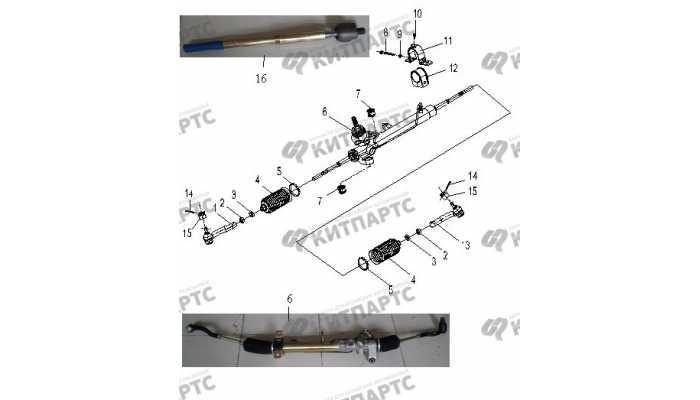 Рулевая рейка BYD F3 (F3R)