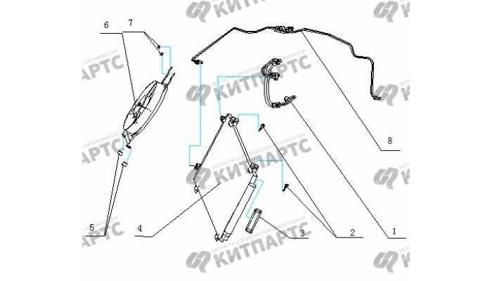 Конденсер BYD F3 (F3R)