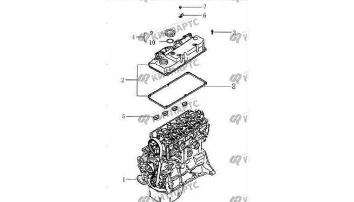 Клапанная крышка BYD F3 (F3R)
