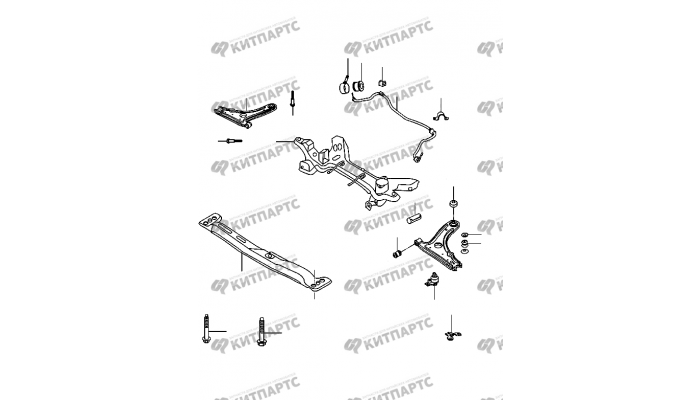 Передняя подвеска Chery Amulet (A15)