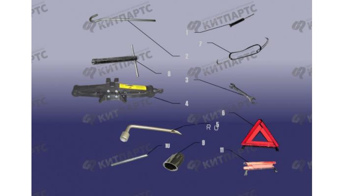 Дорожный инструмент Chery Tiggo (T11)