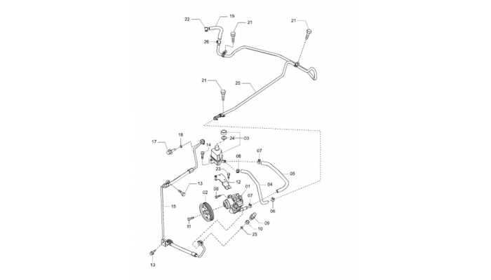 Гидроусилитель руля (ГУР) FAW Besturn B50
