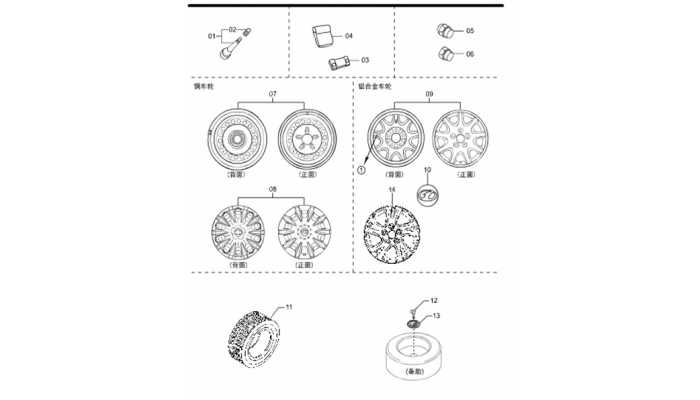Шины и диски FAW Besturn B50