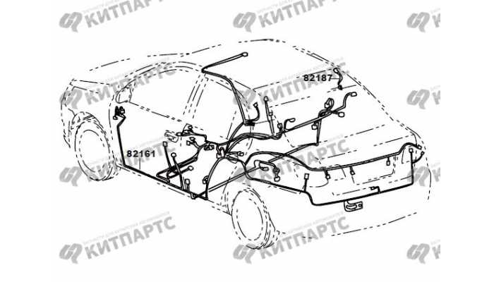 Жгут проводов кузова (седан) FAW Vita