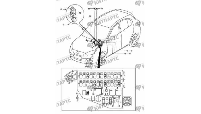 Dashboard wiring harness FAW Oley
