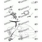 Ключ и личинки замков (седан)