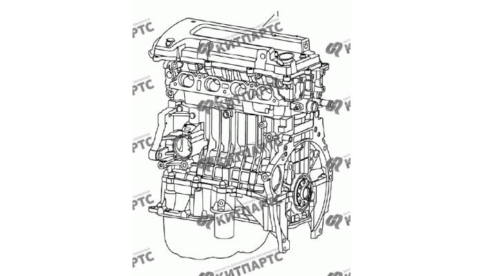 Двигатель Geely Emgrand (EC7)