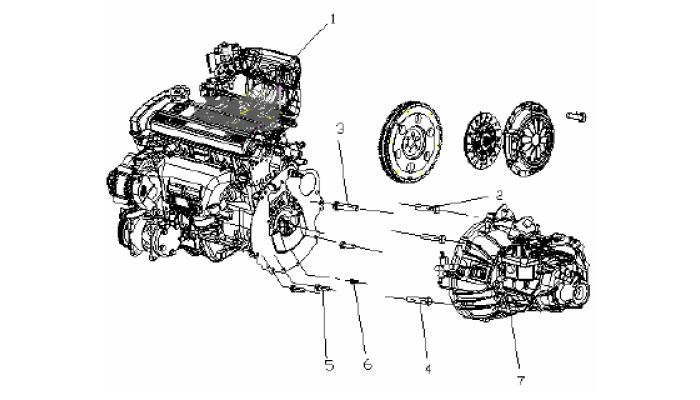 Двигатель в сборе 1,5L (MR479QA) Geely MK